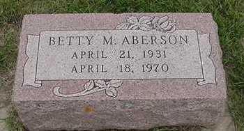 ABERSON, BETTY M. - Sioux County, Iowa | BETTY M. ABERSON