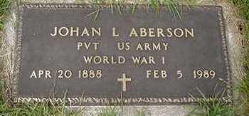 ABERSON, JOHAN L. - Sioux County, Iowa | JOHAN L. ABERSON