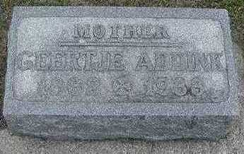 ADDINK, GEERTJE - Sioux County, Iowa | GEERTJE ADDINK