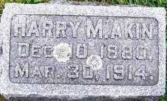 AKIN, HARRY M. - Sioux County, Iowa | HARRY M. AKIN