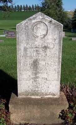 AKIN, WILLIE E. - Sioux County, Iowa | WILLIE E. AKIN
