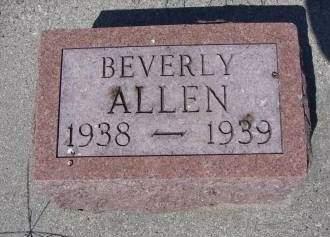ALLEN, BEVERLY - Sioux County, Iowa | BEVERLY ALLEN