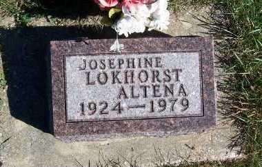 LOKHORST ALTENA, JOSEPHINE - Sioux County, Iowa | JOSEPHINE LOKHORST ALTENA