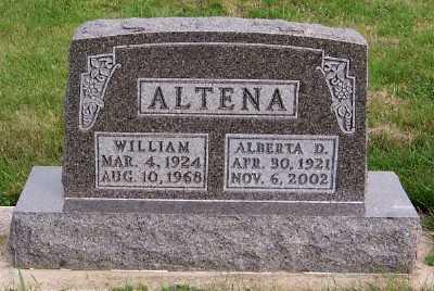 ALTENA, ALBERTHA D. - Sioux County, Iowa | ALBERTHA D. ALTENA