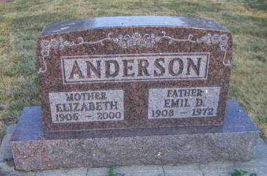 ANDERSON, EMIL D. - Sioux County, Iowa | EMIL D. ANDERSON