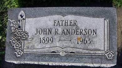 ANDERSON, JOHN R. - Sioux County, Iowa | JOHN R. ANDERSON