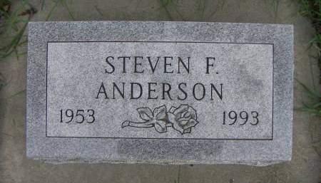 ANDERSON, STEVEN F. - Sioux County, Iowa | STEVEN F. ANDERSON