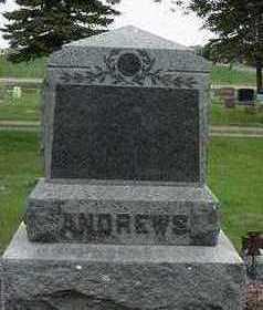 ANDREWS, HEADSTONE - Sioux County, Iowa | HEADSTONE ANDREWS