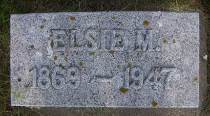 ANGLE, ELSIE M. - Sioux County, Iowa | ELSIE M. ANGLE