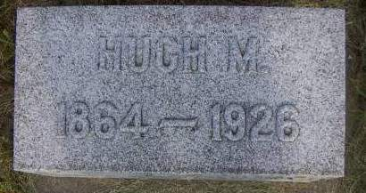 ANGLE, HUGH M. - Sioux County, Iowa | HUGH M. ANGLE