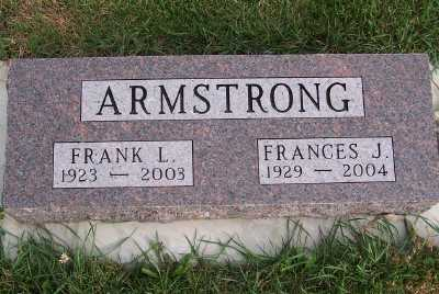 ARMSTRONG, FRANCES J. - Sioux County, Iowa | FRANCES J. ARMSTRONG