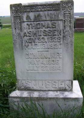 ASMUSSEN, CATHERINE - Sioux County, Iowa | CATHERINE ASMUSSEN