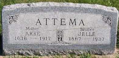 ATTEMA, JELLE - Sioux County, Iowa | JELLE ATTEMA