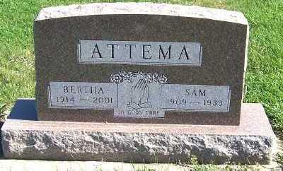ATTEMA, SAM - Sioux County, Iowa | SAM ATTEMA