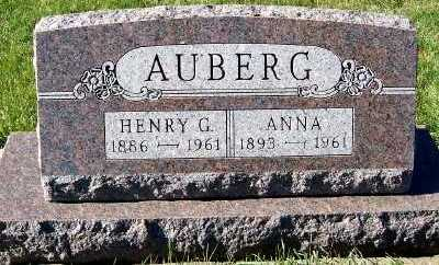 AUBERG, ANNA - Sioux County, Iowa | ANNA AUBERG