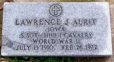 AURIT, LAWRENCE J. - Sioux County, Iowa   LAWRENCE J. AURIT