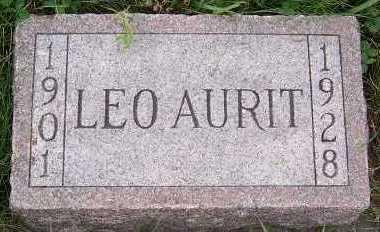 AURIT, LEO (1901-1928) - Sioux County, Iowa   LEO (1901-1928) AURIT