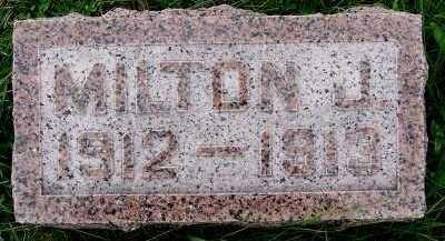 AURIT, MILTON J. (1912-1913) - Sioux County, Iowa | MILTON J. (1912-1913) AURIT