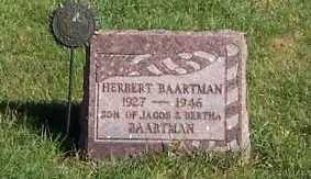 BAARTMAN, HERBERT - Sioux County, Iowa | HERBERT BAARTMAN