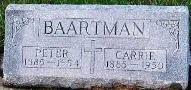 BAARTMAN, CARRIE - Sioux County, Iowa | CARRIE BAARTMAN
