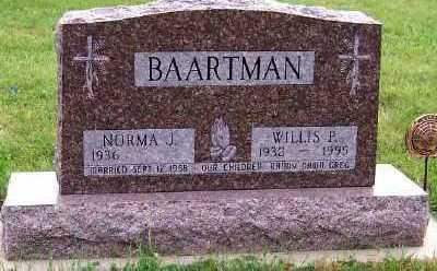 BAARTMAN, WILLIS P. - Sioux County, Iowa | WILLIS P. BAARTMAN
