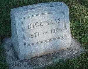 BAAS, DICK - Sioux County, Iowa | DICK BAAS