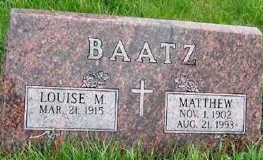 BAATZ, MATTHEW - Sioux County, Iowa | MATTHEW BAATZ