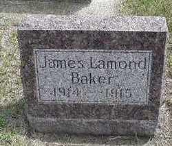 BAKER, JAMES LAMOND - Sioux County, Iowa | JAMES LAMOND BAKER
