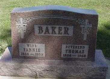 BAKER, THOMAS - Sioux County, Iowa | THOMAS BAKER