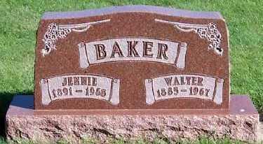 BAKER, WALTER - Sioux County, Iowa | WALTER BAKER
