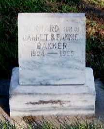 BAKKER, BERNARD - Sioux County, Iowa | BERNARD BAKKER