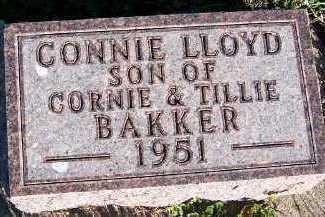 BAKKER, CONNIE LLOYD - Sioux County, Iowa | CONNIE LLOYD BAKKER