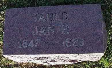 BAKKER, JAN P. - Sioux County, Iowa | JAN P. BAKKER