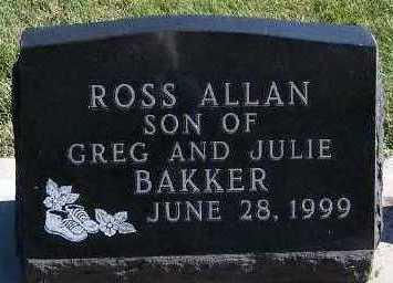 BAKKER, ROSS ALLAN - Sioux County, Iowa | ROSS ALLAN BAKKER