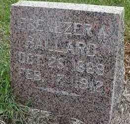BALLARD, EBENEZER A. - Sioux County, Iowa | EBENEZER A. BALLARD