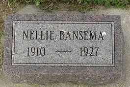 BANSEMA, NELLIE - Sioux County, Iowa   NELLIE BANSEMA