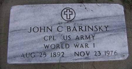 BARINSKY, JOHN - Sioux County, Iowa | JOHN BARINSKY