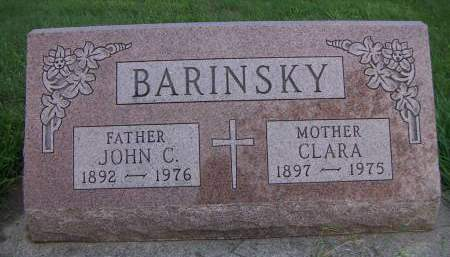 BARINSKY, JOHN C. - Sioux County, Iowa | JOHN C. BARINSKY