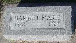 BARKS, HARRIET MARIE - Sioux County, Iowa   HARRIET MARIE BARKS