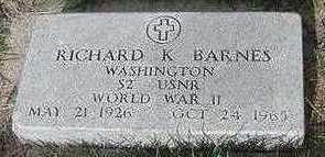 BARNES, RICHARD K. - Sioux County, Iowa | RICHARD K. BARNES