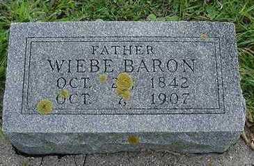 BARON, WIEBE - Sioux County, Iowa   WIEBE BARON
