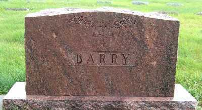BARRY, HEADSTONE - Sioux County, Iowa | HEADSTONE BARRY