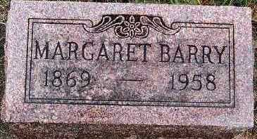 BARRY, MARGARET - Sioux County, Iowa   MARGARET BARRY