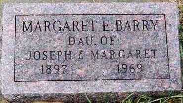 BARRY, MARGARET E. (1897-1969) - Sioux County, Iowa | MARGARET E. (1897-1969) BARRY
