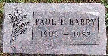 BARRY, PAUL E. - Sioux County, Iowa | PAUL E. BARRY