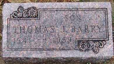 BARRY, THOMAS J. - Sioux County, Iowa | THOMAS J. BARRY