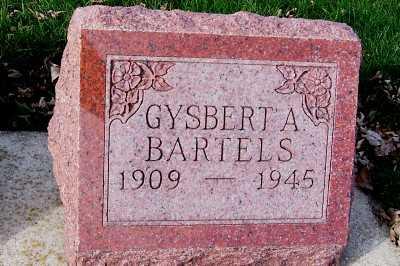BARTELS, GYSBERT A. - Sioux County, Iowa   GYSBERT A. BARTELS