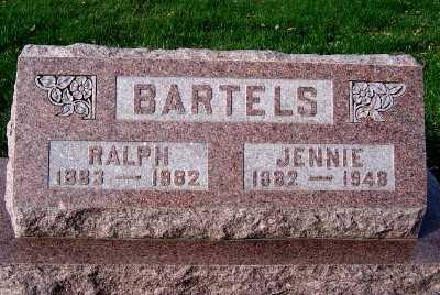 BARTELS, JENNIE - Sioux County, Iowa | JENNIE BARTELS