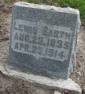 BARTH, LEWIS - Sioux County, Iowa | LEWIS BARTH