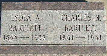 BARTLETT, CHARLES N. - Sioux County, Iowa   CHARLES N. BARTLETT